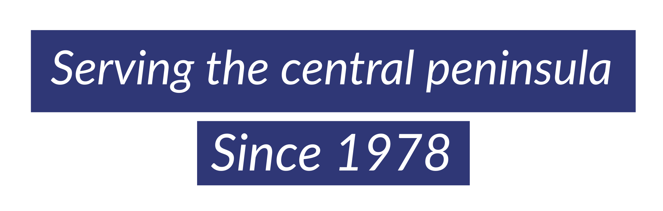 Serving the Central Peninsula
