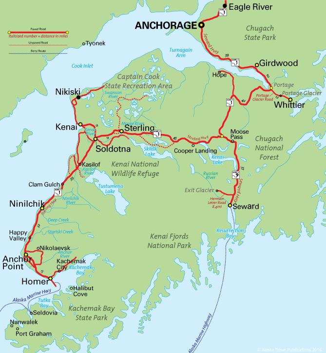Alaska area